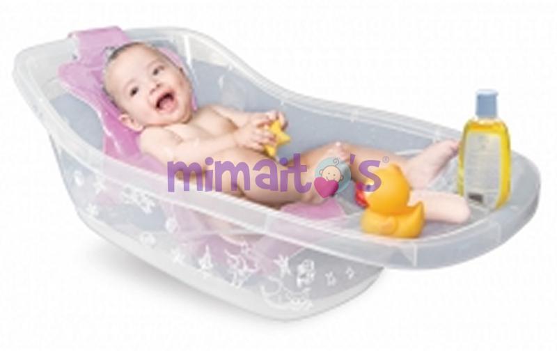Baño En Tina Para Ninos: para mayor estabilidad luego se cambia de posición para el bebé