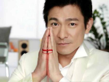 刘德华承认已婚官网被挤瘫 万余网友新浪送祝福