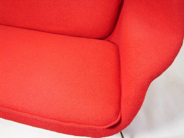 红色子宫沙发(Womb sofa)的细节图片
