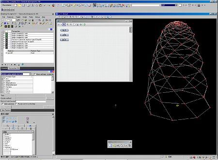 「Generative Componentsを利用して、点を作成」の3D・BIM作業画面|高橋建築研究所・一級建築士設計事務所|建築家・高橋寛