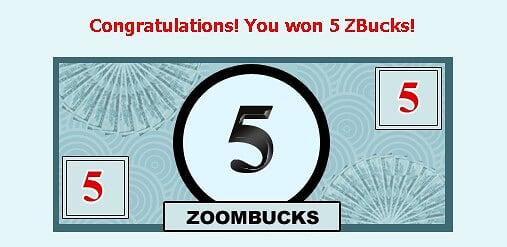Zoombuck,ZBucks