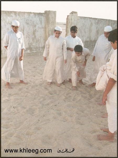 التيله لعبه من التراث الخليجي الحلقة الاولى 7