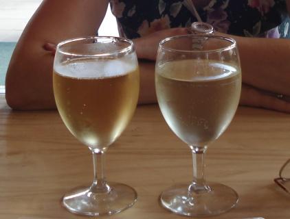 Cidre oder Landwein