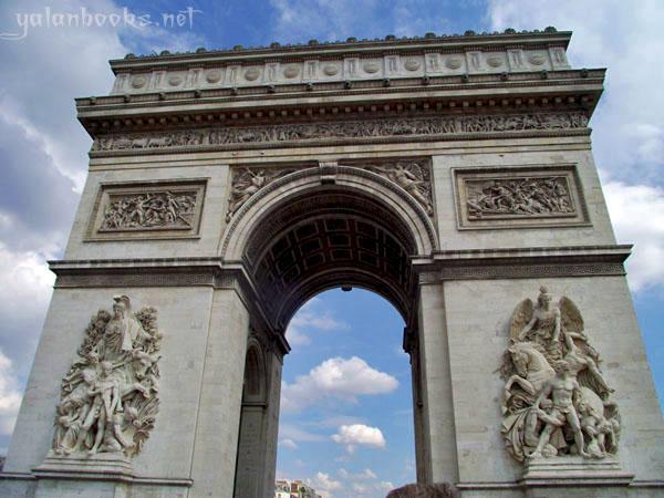Paris Arc de Triomphe Photography Views Romanticism 巴黎凯旋门 风光摄影 浪漫主义 Yalan雅岚 黑摄会