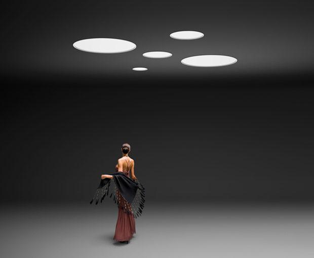 Lámpara de techo Big de Vibia