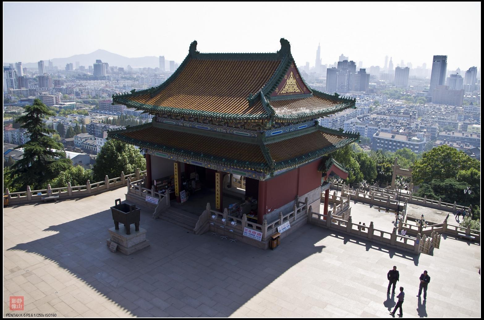 南京阅江楼即景