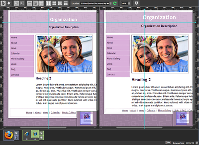 Expression Web 3 SuperPreview