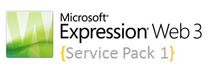 Expression Web 3 - Service Pack 1