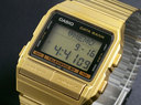 นาฬิกาข้อมือ คาสิโอสีทอง db520ga-1adf