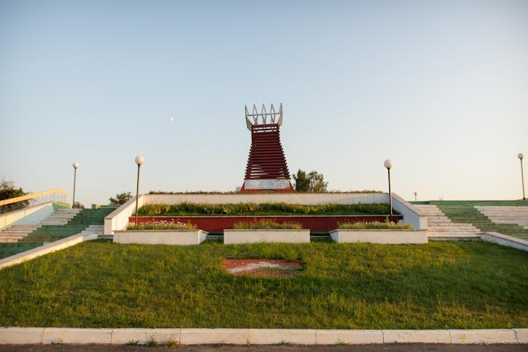 памятник выселенным деревням
