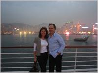 Sailing from Hong Kong