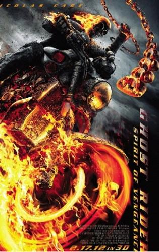 恶灵骑士2电影海报