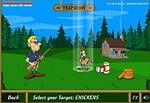 Con este divertido juego podrás elegir entre cuatro simpáticos personajes y diferentes tipos de objetivos. Es un juego muy entretenido en el que podrás demostrar tu puntería.