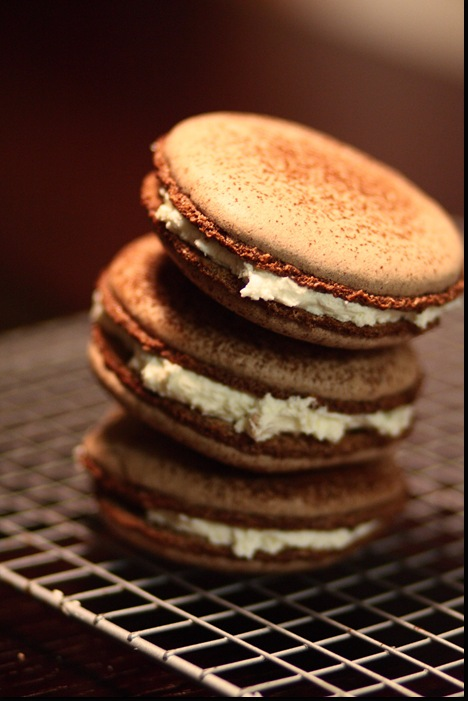 Chocolate Macaroons by Pierre Herme | By Let the Baking Begin!