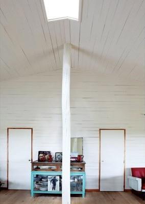 Una cabaña con estilo retro, Decoracion, diseño
