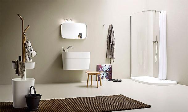La colección de baño Fonte - Monica Graffeo