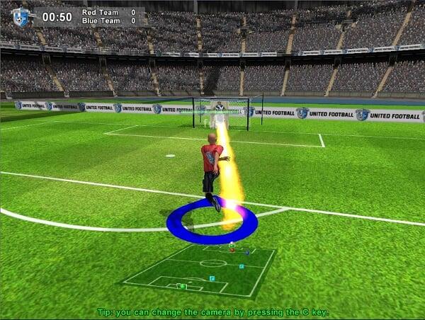 Te invitamos a jugar un partido de futbol Online, un juego muy divertido de futbol para jugar con el Mouse. Debes escuchar al DT y ganar el partido. Suerte