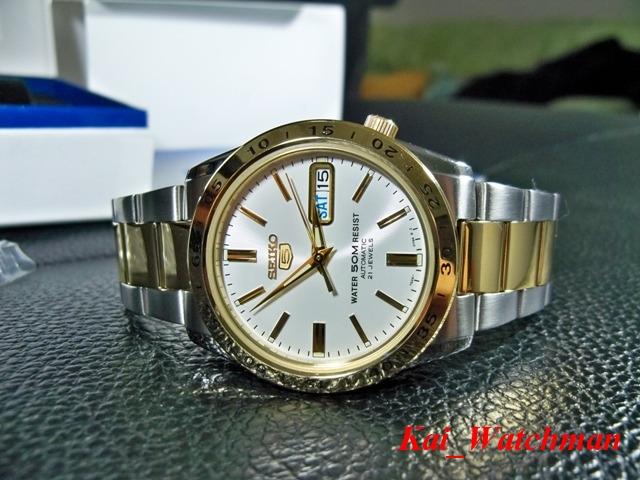 นาฬิกาข้อมือ ไซโก้ Seiko5 Automatic SNKE04K1 _2