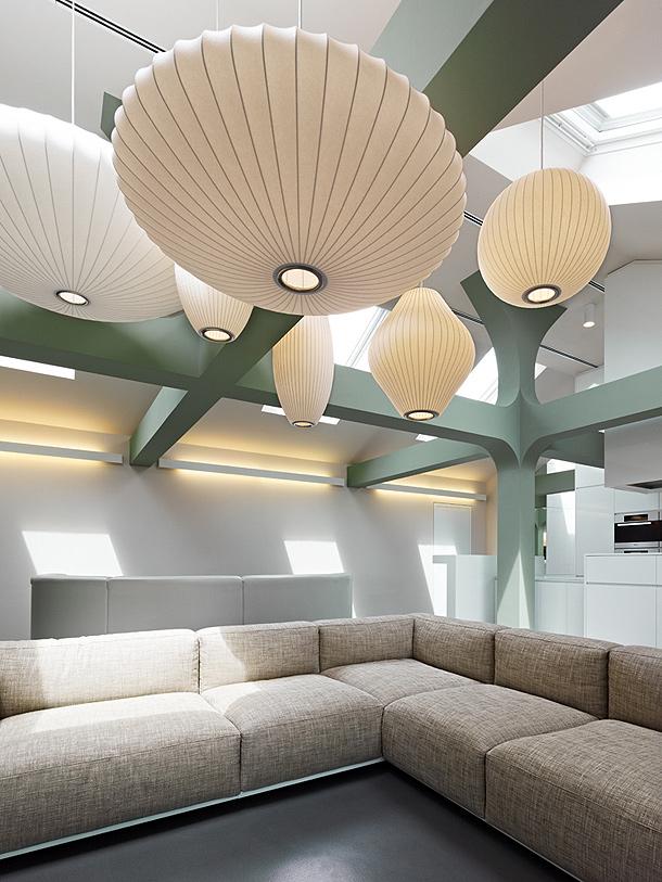 Elegante apartamento en el centro de Stuttgart - Ippolito Fleitz Group