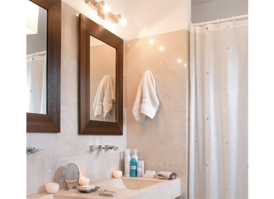 Iluminacion Baño Moderno:Ahora, en los baños modernos el botiquín se desplazó hacia otros