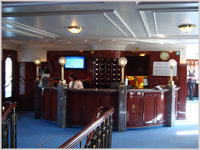 Reception onboard the Royal Crown - eWaterways