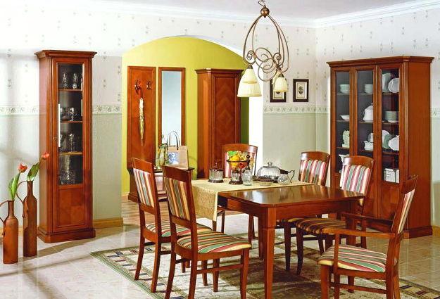 Sufragerie lemn masiv OSKAR