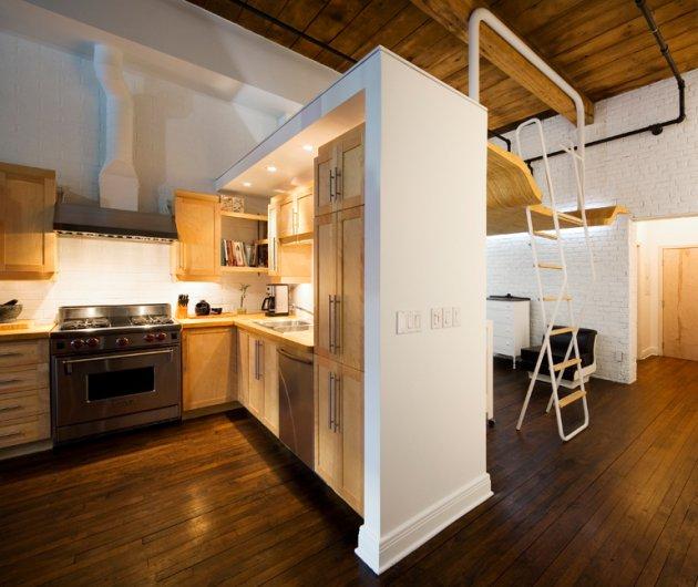La habitación del bebé en un loft - McComber Architects,decoracion, diseño, idea, interiores