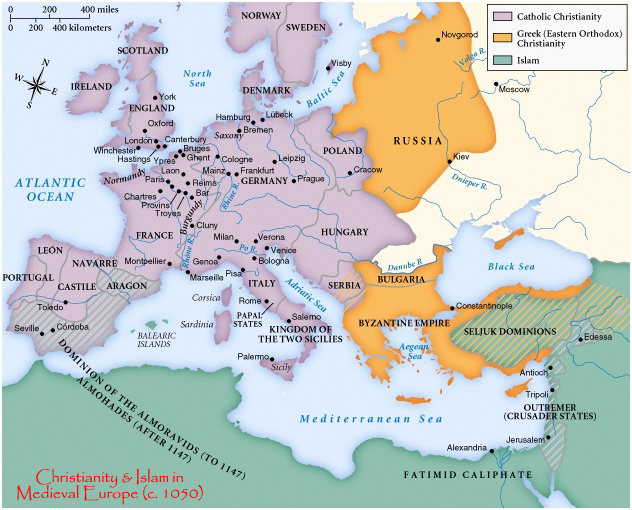 Christianity MedievalMap