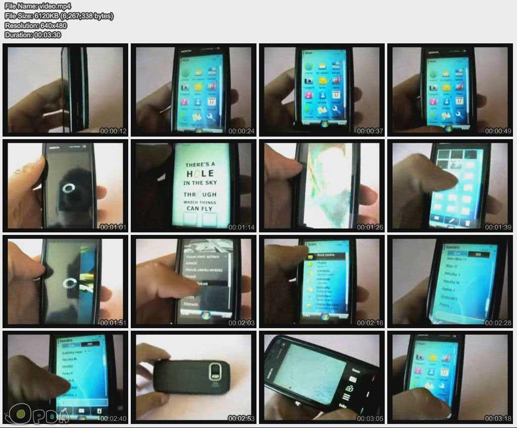 【5800新主题效果Iphone】5800 new theme effect (Iphone)【效果视频下载】
