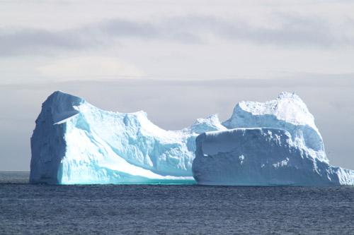 南極の氷河