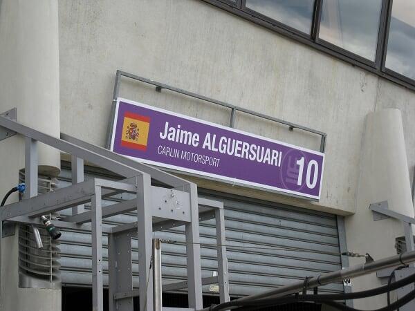 Jaime Alguersuari remplaçant Bourdais