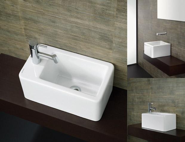 Baños Minimalistas Diseno:La gran flexibilidad en la aplicación de los distintos lavabos