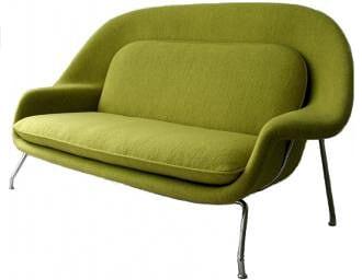 绿色子宫沙发(Womb sofa)