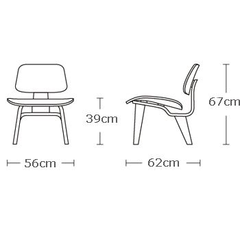 Lounge-chair-wood, Charles-Eames, Silla, diseño, muebles, decoracion, interiores