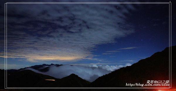 合歡山夜景