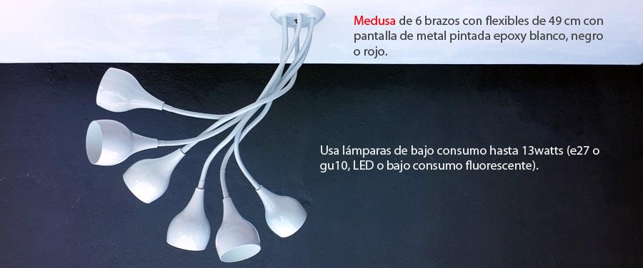 Lámpara Medusa de Newpaton