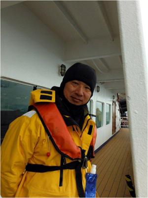 梶井寛さん「南極旅行の楽しみ方」