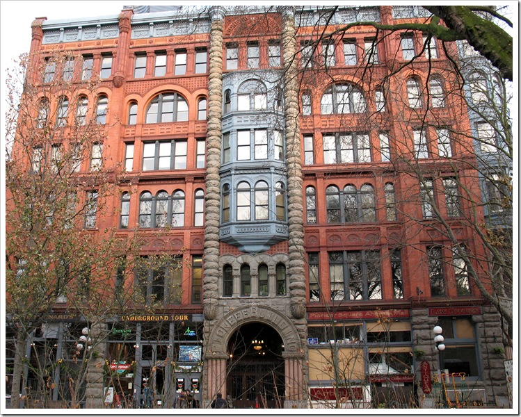 building at Pioneer Square 5