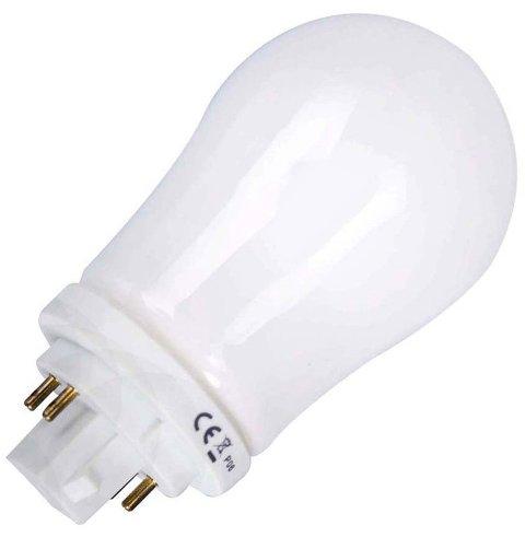 bulb life ring 10w g24q1 4 pin energy saving compact fluorescent bulbs. Black Bedroom Furniture Sets. Home Design Ideas