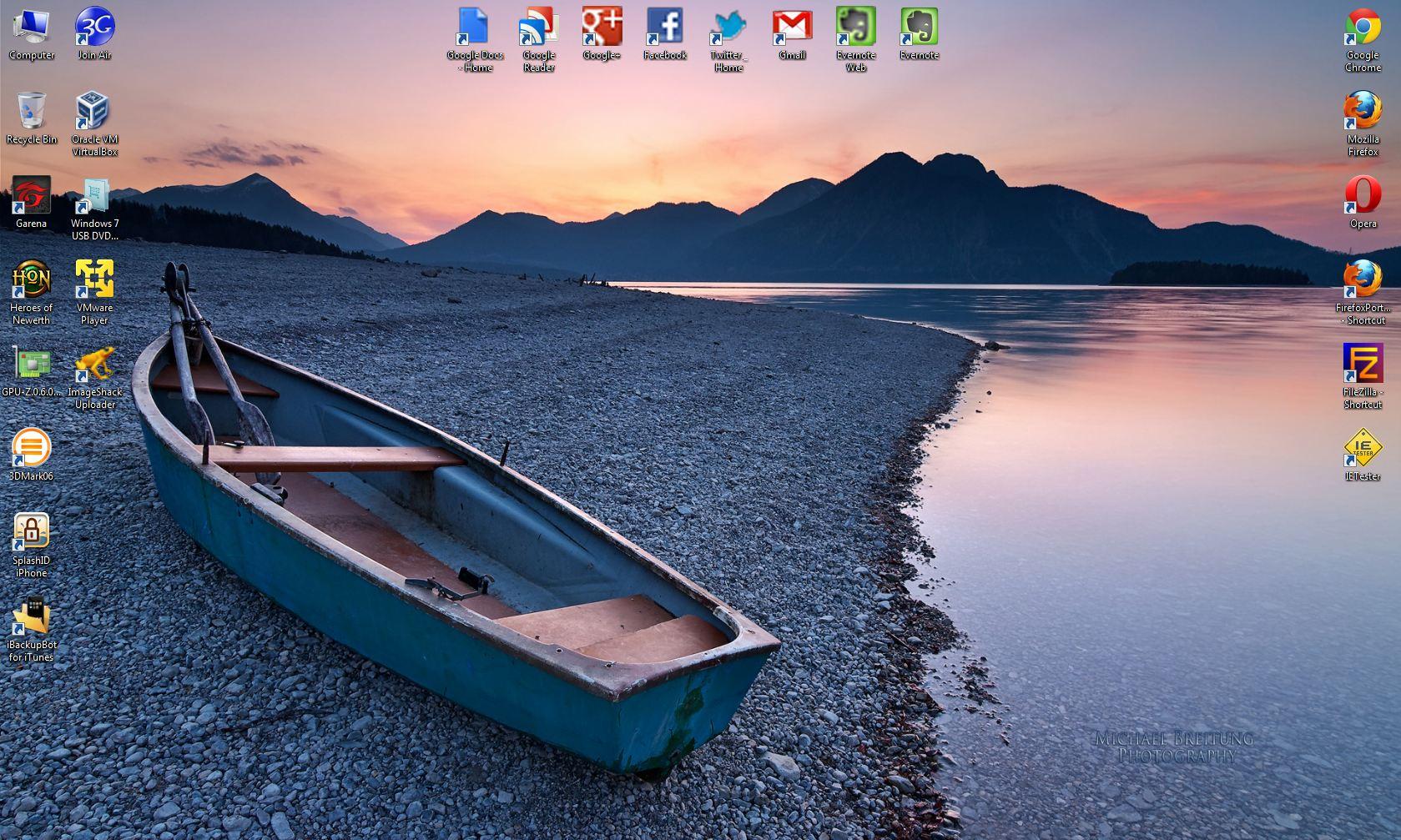 Ordered Desktop