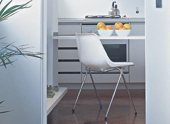 Silla-Polychair, Robin-Day, diseño, muebles