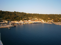 Katakolon, Peloponnese, Greece