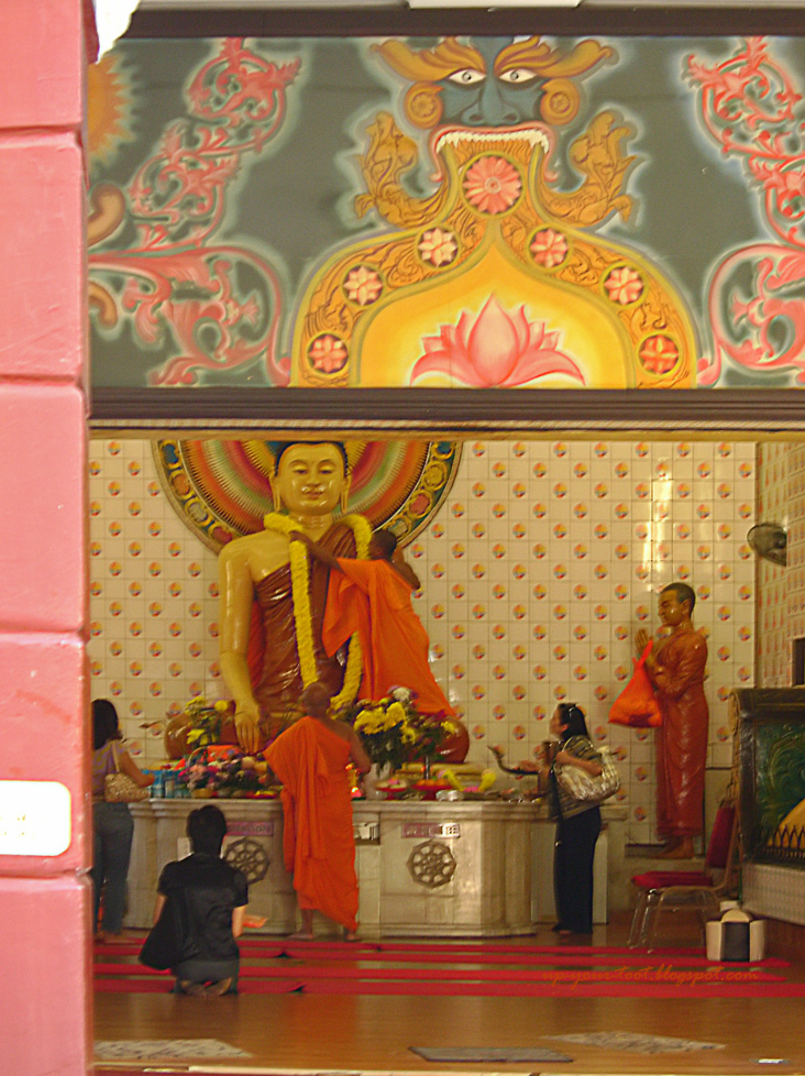 Buddha at the Maha Vihara Brickfields