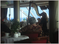 Afternoon tea with the harp virtuoso
