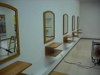 店舗内装 商業施設 内装工事 アールエス 美容室
