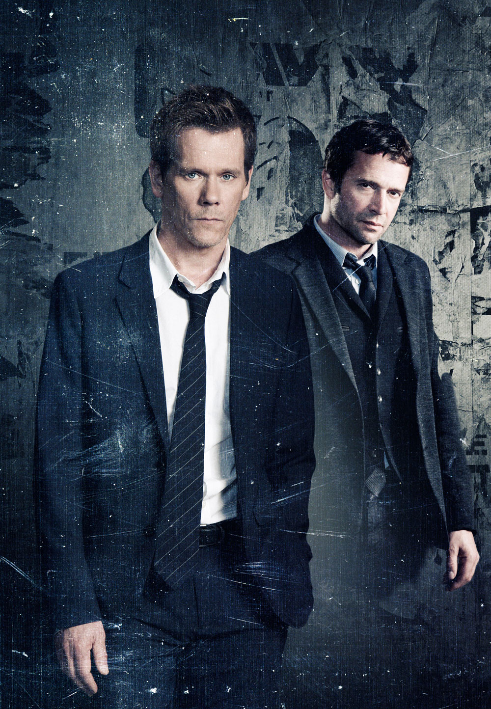[影集] The Following (2013~) Kevin-Bacon-and-James-Purefoy-of-The-Following