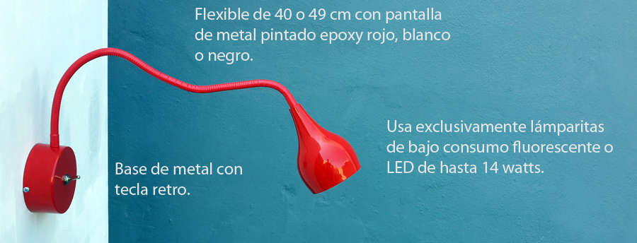 Aplique Rojo Newpaton Flexible