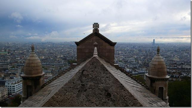 圣心教堂-巴黎全景