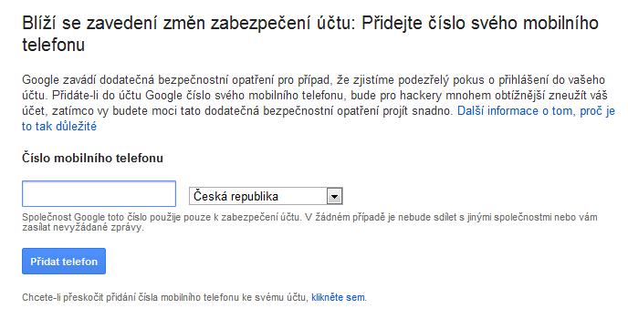 Gmail Telefon 1