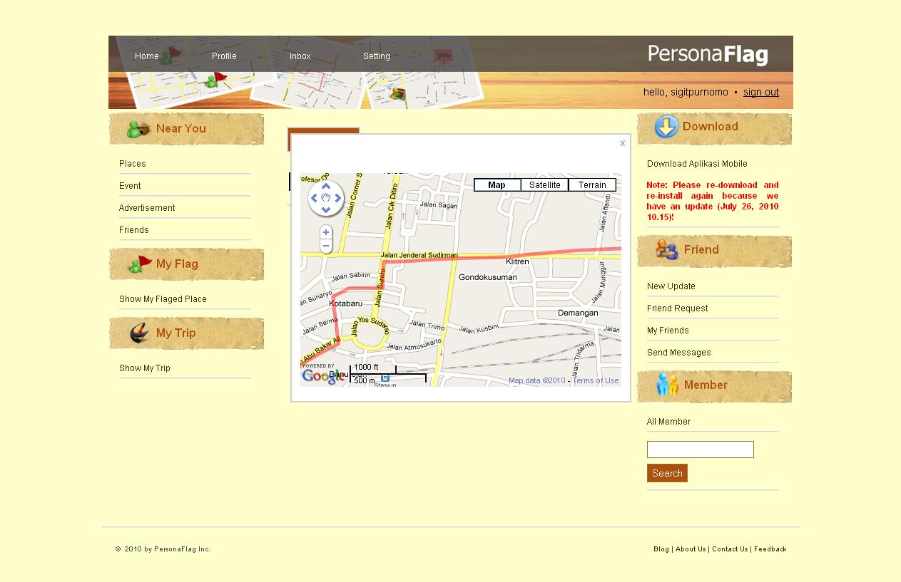 Web App - Show Trip [Map]